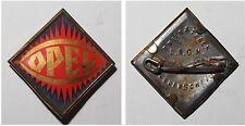 Broschen-Abzeichen aus Blech OPEL / Vorkrieg