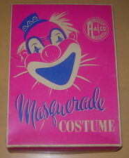 HALCO  HECKLE AND JECKLE  COSTUME  MEDIUM  C. 1950'S  CORRECT BOX