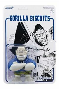 Super7 Gorilla Biscuits ReAction Figure - Mascot (Camo Shorts)