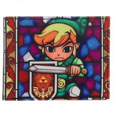 Nintendo The Legend of Zelda Windwalker Link Collage Bi Fold Wallet Licensed