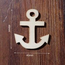 Wooden Gift Tags Anchor Designs Pattern For Christmas Party Favors For Souvenirs