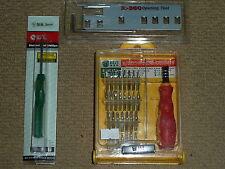 35 Piezas Mini Destornillador de precisión conjunto de herramientas XBOX 360 Herramienta de Apertura Destornillador! nuevo!