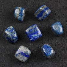 7pcs Natural Lapis Lazuli Tumbled Stone Quartz Crystal with one pouch TS0016