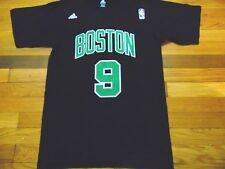 ADIDAS NBA BOSTON CELTICS RAJON RONDO BLACK JERSEY T-SHIRT SIZE S