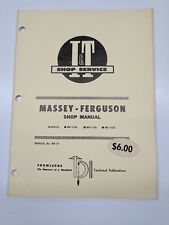 Massey Ferguson Shop Service Manual I&T Series Model MF-1105 MF-1135 MF-1155