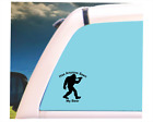 Bigfoot sasquatch seen beer vinyl decal any smooth surface Made in the USA