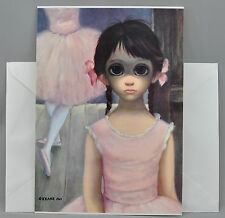 Walter Margaret Keane Greeting Card BIG EYES THE RELUCTANT BALLERINA 1963 Burton
