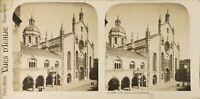 Italia Como la Cattedrale, Foto Stereo Vintage Analogica PL60L1135