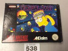 Super Nintendo Snes Virtual Bart