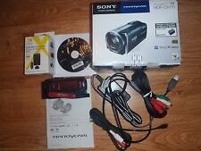 Sony Handycam HDR-CX110 Digital Video Camera Recorder 25x Zoom Full HD 1080 Red