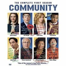 New The Community: The Complete First 1 Season (DVD, 2010, 3-Disc Set)