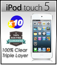 10 x Top Grade Ultra CLEAR Screen Protector Guard Film F NEW iPod Touch 5 5G 5th