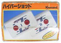 "FAMICOM FC NES""HYPER SHOT""CONTROLLER KONAMI BOXED JAPAN"
