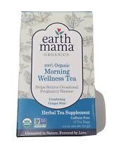 New Organic Morning Wellness Tea, Earth Mama Angel Baby, 16 tea bag