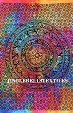 """Traditional Mandala Poster 30x40"""" inch Ethnic Cotton Hanging Hippie Wall Art"""