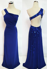 NWT MORGAN & CO $150 Royal Purple Formal Prom Gown 5