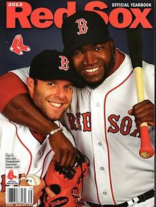 2013 Boston Red Sox Yearbook World Series Champions Big Papi Pedroia