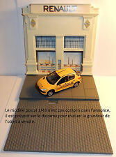 RARE NOREV DIORAMA GARAGE RENAULT POUR MODELES 1/43 DECOR L'ILE SEGUIN TOME 2