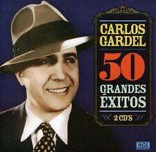 Carlos Gardel - 50 Grande Exitos [New CD] Argentina - Import