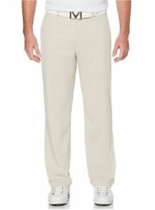 Callaway Mens Stretch Golf Pants w/ Active Waitband Silver Lining 38x32 #71671