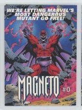 "1993 Marvel Comics Magneto #0 Promo checklist Card ""X-MEN DAYS OF FUTURE PAST"""