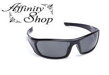 Black Mirage Polarised Safety Glasses Force360 Work Eyewear Specs Free Pouch