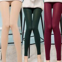 Skinny High Slim Warm Pants Women Winter HOT Thick Waist Stretch Leggings
