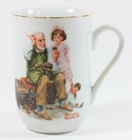 Norman Rockwell The Cobbler Coffee Mug Tea Cup