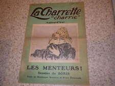 1922.La charrette charrie.N°2.Les menteurs.Boris.Bonnaud.Duvernois