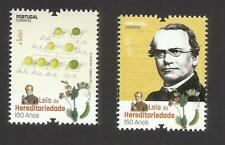 Portugal 2015 - Laws of Heredity - Mendel set MNH