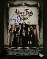 Christopher Lloyd autograph signed 11x14 The Addams Family PSA COA Uncle Fester