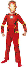 Boys Kids Iron Man Official Marvel Avengers Book Day Fancy Dress Costume 2-8