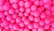Fluoro 10mm Bright Pink Strawberry Fluoro's Carp Fishing Bait Pop Ups