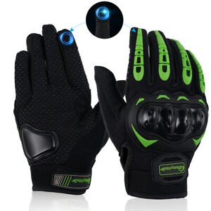 Pair Motorcycle Touch Screen Gloves For Outdoor Motocross Mountain Dirt Cycling