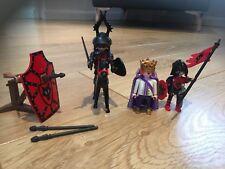 PLAYMOBIL Loup chevalier Bundle avec King & catapulte