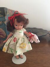 Nancy Ann Doll bisque I Have A Little Pet —added Pig.so cute