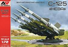 A&A Models 7215 S-125 Neva Soviet surface-to-air missile system Plastic kit 1/72