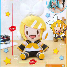SEGA Vocaloid Hatsune Miku - Kagamine Rin 38cm Jumbo Big Plush (Girl) US SELLER!