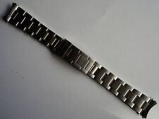 A 20MM FLIPLOCK STEEL OYSTER BAND BRACELET FOR ROLEX MENS 16610 SUBMARINER WATCH