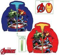 Boys Kids Children Avengers Winter Padded Jacket Coat Hooded age 3-10 years