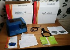 RARE BOXED InFocus IN1 DLP Gaming Projector Model GAUD300-WW  guides with guides