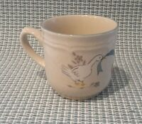 Vintage International China MARMALADE Geese Blue Ribbon Strawberry Tea Cup