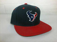 Houston Texans Snap Back Cap Hat HOU Embroidered Adjustable Flat Bill