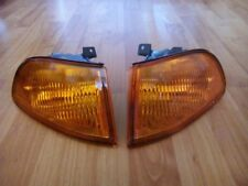 JDM Yellow FRONT INDICATORS Civic 2 3 Doors AMBER turn signals blikner corners