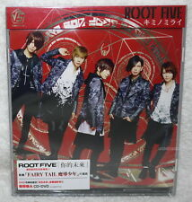 √5 (Root Five) Kimi no Mirai 2014 Taiwan Ltd CD+DVD (Ver.A)