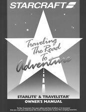 2002 Starlite /Travelstar Camping Popup Trailer Owners Manual