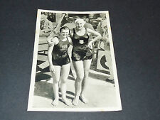 LOS ANGELES 1932 J.O. OLYMPIC GAMES OLYMPIA NATATION H. MADISON USA W. DEN OUDEN