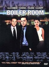 Boiler Room (DVD, 2000) Wall Street stock broker movie film money wealth drama
