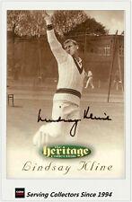 1996 Futera Cricket Heritage Signature Card Player Edition #35: Lindsay Kline