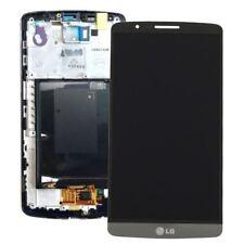 Ecran LG G3 Titanium Noir D850/855 LCD + Vitre tactile avec chassis